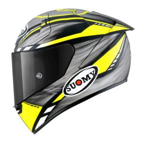 Casco Suomy SR-GP On Board Grey/Yellow Fluo Matt